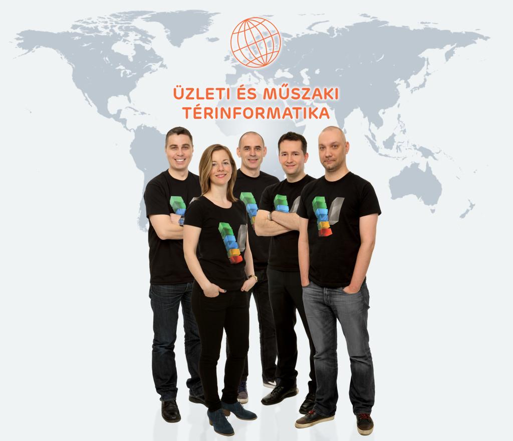 GIS üzletág csoportkép